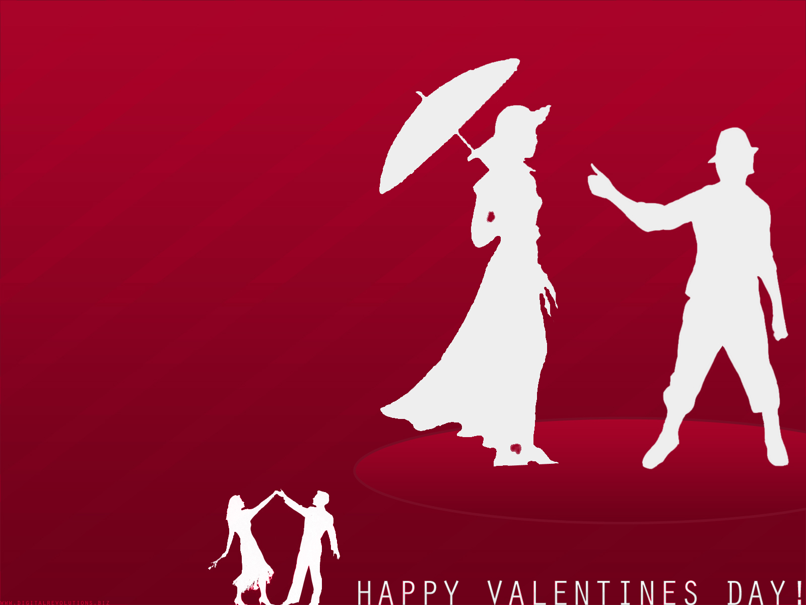 The last in our 2008 series of valentines wallpapers, Valentines Day