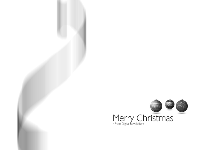 merrychristmas prev Merry Christmas from Digital Revolutions! wallpaper revolutions merry digital design christmas