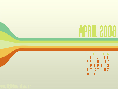 April 2008 Wallpaper