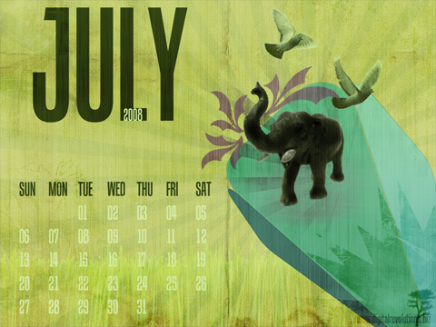cal 07 08 prev Calendar Wallpaper   July 2008 wallpaper revolutions july free digital calendar 2008 