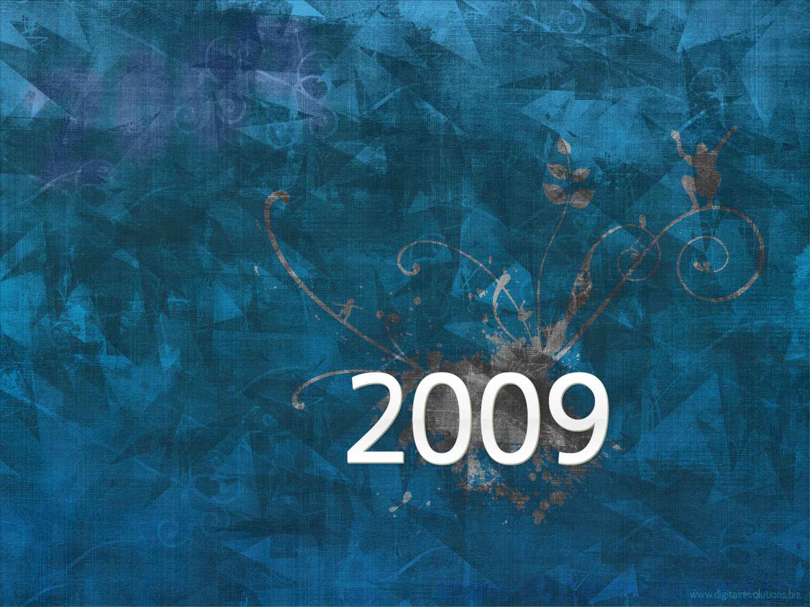 Celebrate the Digital Revolutions way with our 2008-2009 New Years Wallpaper