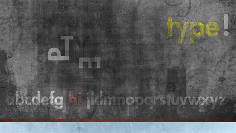 type wallpaper widescreen prev Type and Typography   Widescreen Abstract Grunge Wallpaper