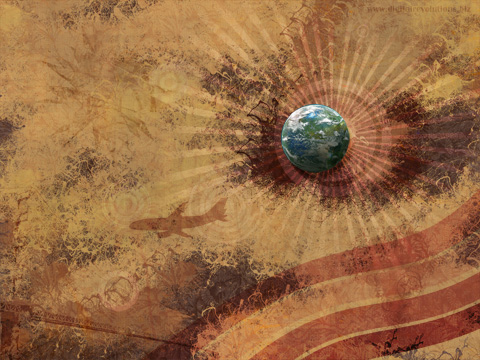 retro globe prev Retro Globe Abstract Wallpaper  widescreen wallpaper retro grunge globe detailed abstract