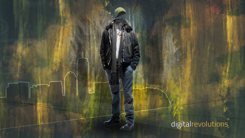 ghost prev Urban Ghost   Abstract HD Wallpaper widescreen wallpaper urban revolutions hd gritty ghost digital desktop background abstract
