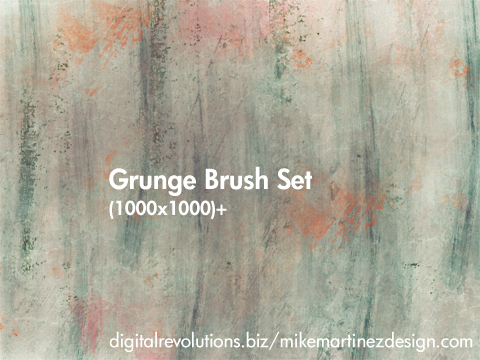 grunge prev Exclusive Grunge Brush Set   Free Download resolution high grunge free exclusive download brushes 