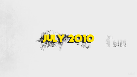 july2010 prev July 2010 Desktop Calendar Wallpaper yellow wallpaper july hd grunge free calendar abstract 2010