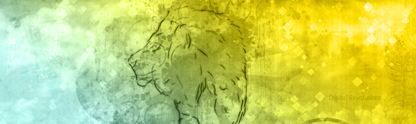 Lion – Abstract Wallpaper